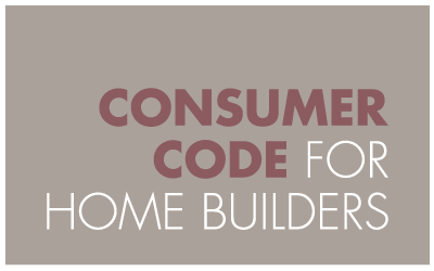 Rosemount Homes, Belfast, Consumer Code for Home Builders