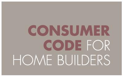Rosemount Homes, Belfast, Consumer Code for Home Builders
